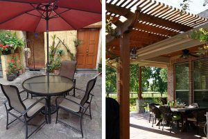 Patio Umbrellas vs a Pergola: How Do You Choose?